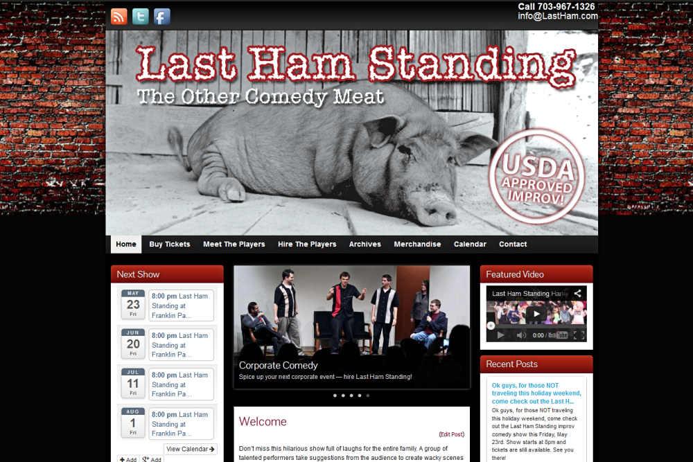 Last Ham Standing Website