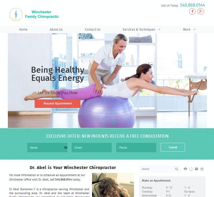 ChiroMatrix website makeover